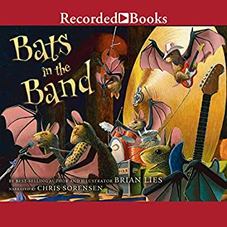 Bats in the Band audiobook cover art
