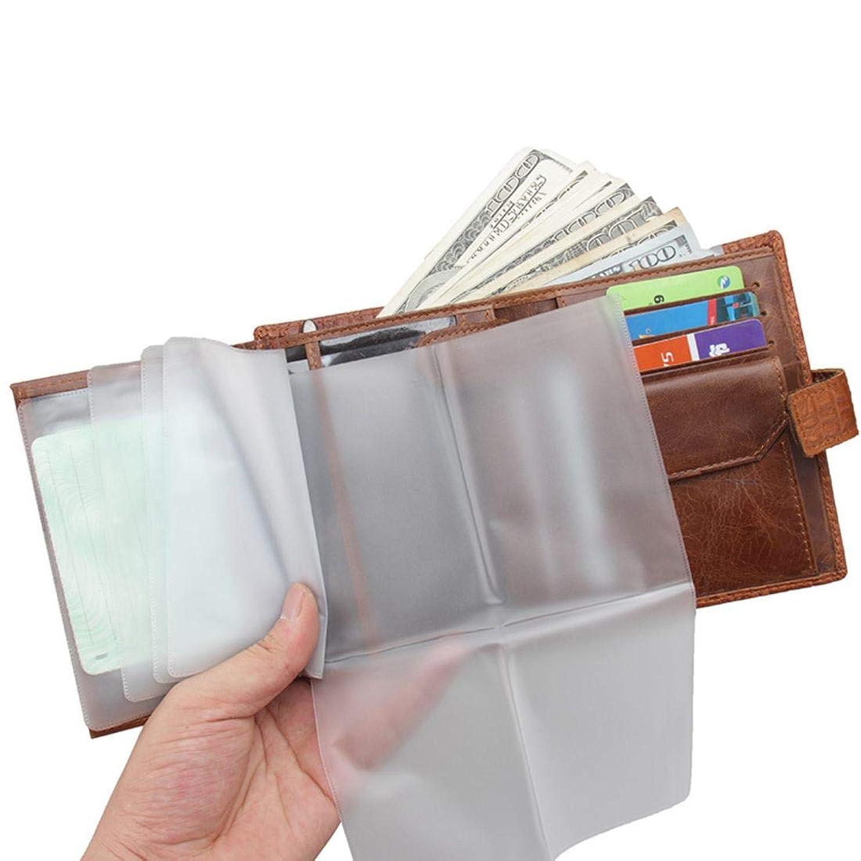 香り誠意買うMadalena 革ワニ財布財布多機能運転免許証パスポートシェル (Color : Brown)