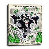 Monopoly Man Wall Street Journal Financial Times...
