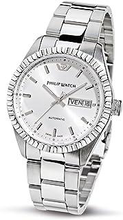 Philip Watch - Caribbean R8223107045 - Reloj de Caballero de Cuarzo, Correa de Acero Inoxidable Color Plata