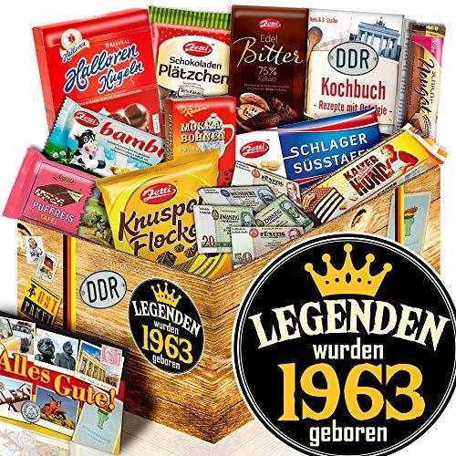 Legenden 1963 - Geschenk für Mann Geburtstag - DDR Schoko-Geschenk