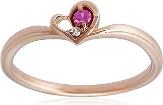 [ESTELLE] ESTELLE 红宝石·钻石K10玫瑰金戒指