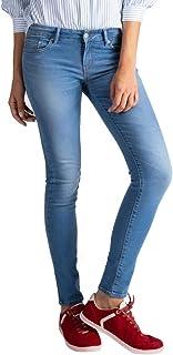 Calça Jeans Levis 711 Skinny Fem Azul Média