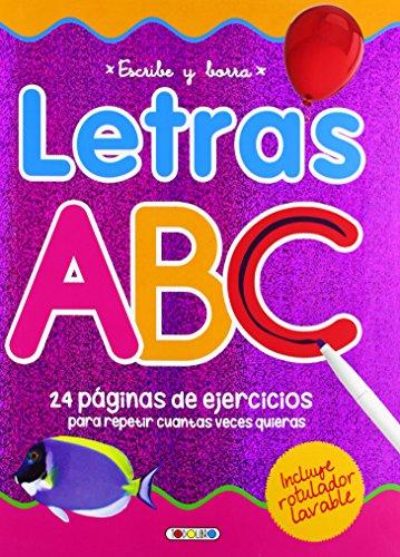 Escribe y borra letras ABC Aprendo con mi pizarra