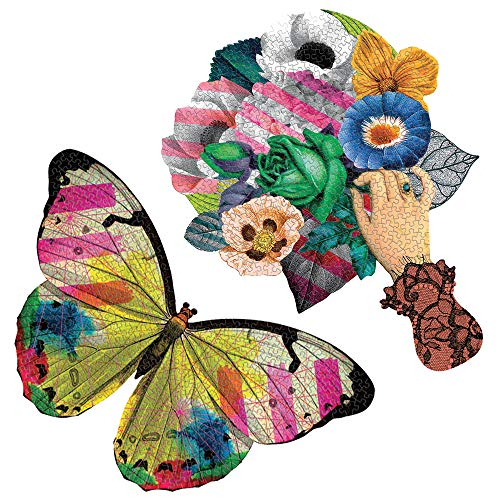 Galison and Mudpuppy Christian Lacroix Heritage Collection Frivolités Set of 2 Shaped Puzzle Set (0735364087)