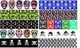 Guitar Pick Punch Skull Design Refill Sheets - Make Custom Rock and Roll Picks With Any Pick Punch - Set of 20