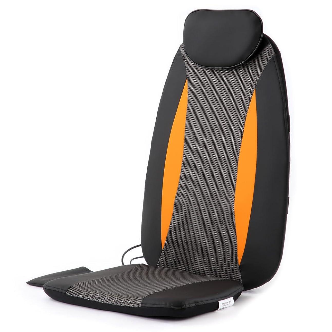 祝う不確実バーチャルぼん家具 マッサージチェア 椅子に置くだけ マッサージ器 タイマー付き 折りたたみ式 持ち運び可能 シートマッサージャー