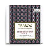 Teabox Earl Grey Black Tea with Bergamot Oil, 18 TeaPacs