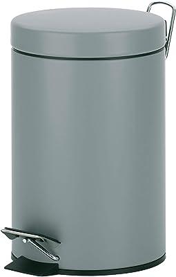Kela ケラ ペダル式ゴミ箱 サイズ:∅17×H26cm ペダルビン3L ライトグレー 21886