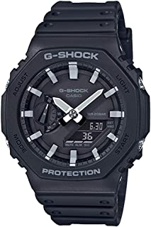[カシオ]CASIO G-SHOCK Gショック ジーショック カシオ アナデジ デジタル&アナログ 多機能 ブラック GA-2100-1AJF 腕時計 [国内正規品]