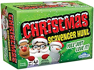 Christmas Scavenger Hunt Game - Includes 220 Cards with Holiday Themed Objects Found both Inside and Outside the Home (Age...