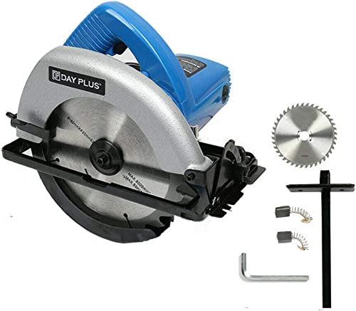 popular 7-1/4'' Circular Saw 900W Powerful Electric Circular Saw 4700RPM Adjustable Cutting sale Depth Max 2.17'' with Double Safety Switch Lightweight 1.5m Cable with 2021 Saw Blade Rip Guide sale