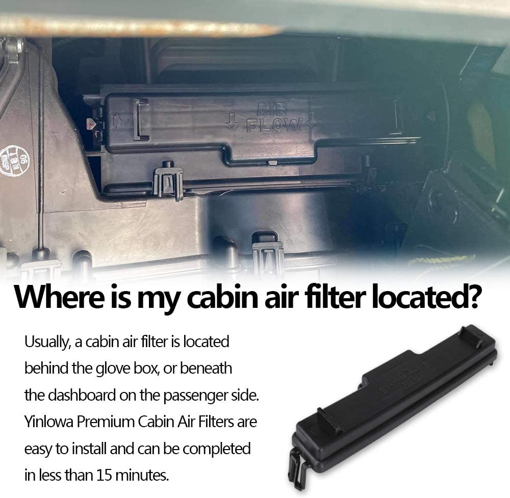 Buy 68318365aa Cabin Air Filter Kit For 2016 2017 2018 Ram 1500 2500 3500 Cabin Air Filter Air Conditioning Filter Access Door Cf11671 Chrysler 68052292aa 68406048aa Dodge Ram Cabin Air Filter Cover Online In Italy B088m6j9fv