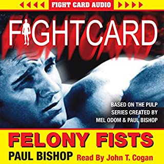 Felony Fists audiobook cover art