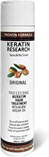 Brazilian Keratin Hair Treatment 300ml Professional Complex Blowout with Argan Oil Improved Formula and Fragrance Keratin ...