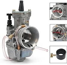 Jfg Racing - Carburador original de 34 mm OKO PWK Power Jet para carreras, quad o kart, moto de cross, motocicleta, scooters.