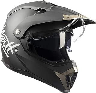 Westt Dirt Bike Motocross DOT Motorcycle Helmet Dual Visor Off Road Full Face
