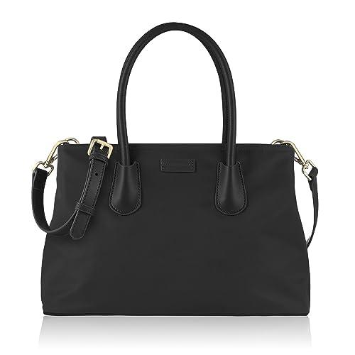 CHICECO Classic Women s Tote Bag Top Handle Handbag - Oxford Nylon 7e094eb6dfd95