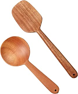 Tora Eco Friendly Spatula Set for Cooking & Serving 100% Natural/Anti Bacterial/ 10 Hygiene