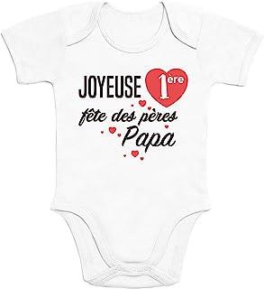 Tu Peux Le Faire Cadeau pour Le Nouveau P/ère Body B/éb/é Manche Courte Shirtgeil Papa