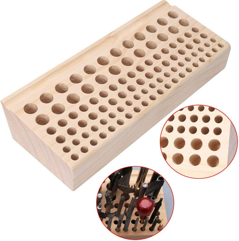 Leather Tools and Supplies 98 Craft Max 54% OFF Holes Wood Tool Hold Bombing free shipping