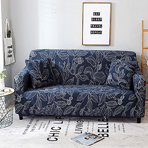 Fundas de sofá de Elasticidad para Sala de Estar, Fundas elásticas de Material elástico, Fundas de sofá, Funda de Silla, sofá en Forma de L A10, 4 plazas