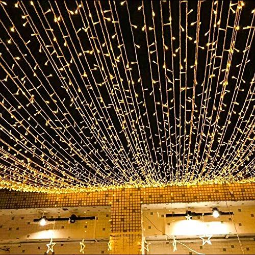 LED knipperlichten lichtketting bruiloft lichten vakantie decoratie Kerstmis buiten waterdicht sterren lichtketting