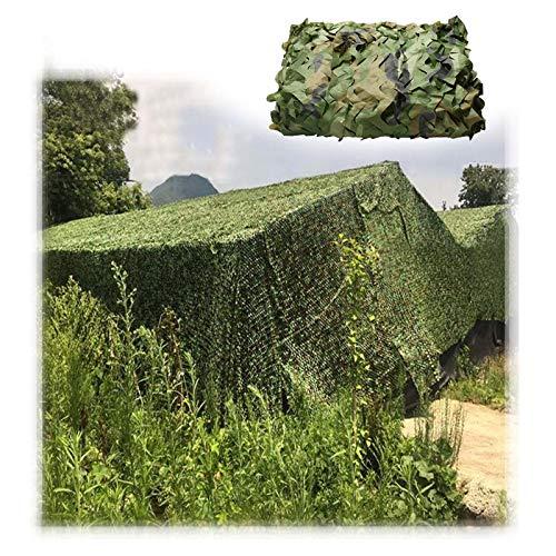 Malla De Camuflaje 2x3m 3x4m 4x5m Red De Camuflaje Militar para Aire Libre Malla CS Toldo Niños Coche Tienda De Campaña Sombra Neta Protección Solar