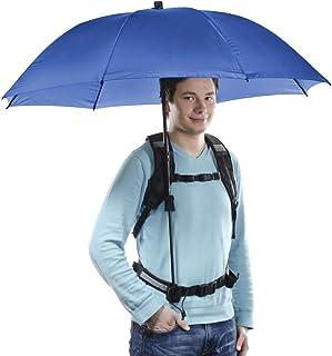 Walimex Pro Swing handsfree Regenschirm mit Tragegestell marine