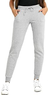 Mighty Young Threads Womens Slim Fit Joggers Gym Sports Ladies Sweatpants Casual Fleece Jogging Bottoms S-XL