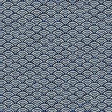 Textiles français Baumwollstoff   Japanische Fischschuppen