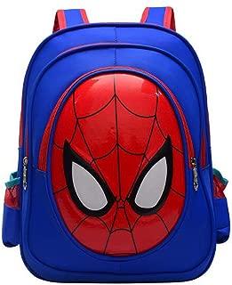 OKASIS Boys' Backpack, 3D Cute Cartoon Toddler Backpack Waterproof School Backpack, Elementary Student Backpack Bookbags for Children (Blue)