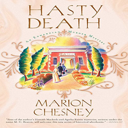 Hasty Death audiobook cover art