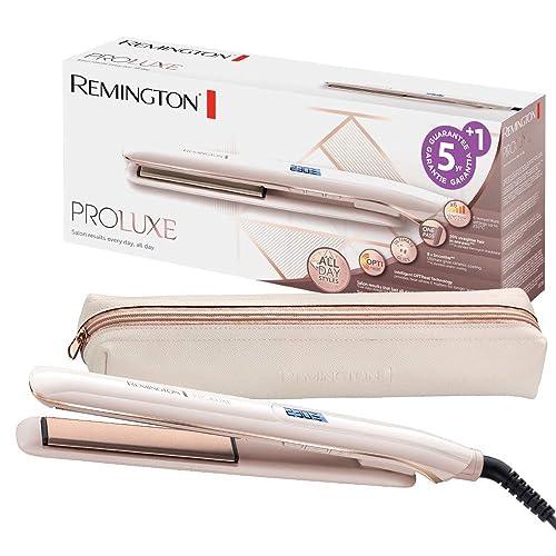 Remington S9100 ProLuxe - Plancha de Pelo, Cerámica, Digital, 9 ...
