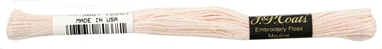 Coats Crochet 6-Strand Embroidery Floss, Baby Pink, 24-Pack
