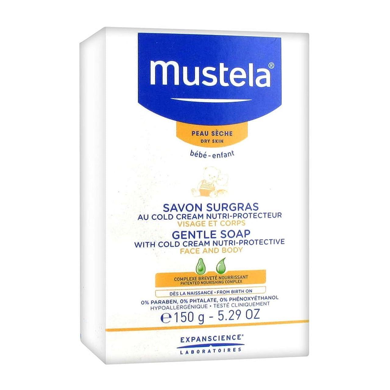 砂の知人ダニMustela Cold Cream Soap 150g [並行輸入品]