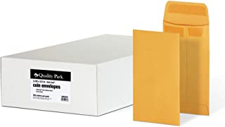 Quality Park #5 Coin and Small Parts Envelopes, Self Seal, for Home, Office, Garden, 24 lb Brown Kraft, 3-1/8 x 5-1/4 Inch...