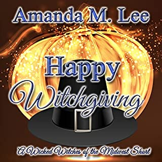 Happy Witchgiving audiobook cover art