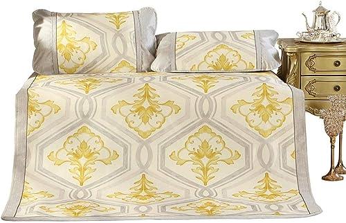 QNJM Doppelseitige Sommer-Schlafmatte, Faltbare Sommer-Klimaanlagen-Weißhe Matte, Perfekt Für Sommernachtschlaf (Größe   120cm)