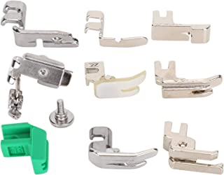 Presser Foot, Sewing Machine Presser Foot Kit, Stainless Steel Pratical for Dressmaker Household Sewing Machine