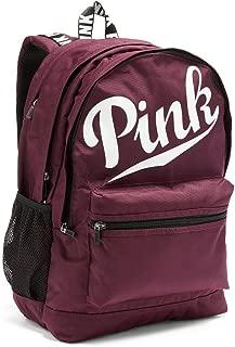 Victoria's Secret Pink Campus Backpack Black Orchid Logo