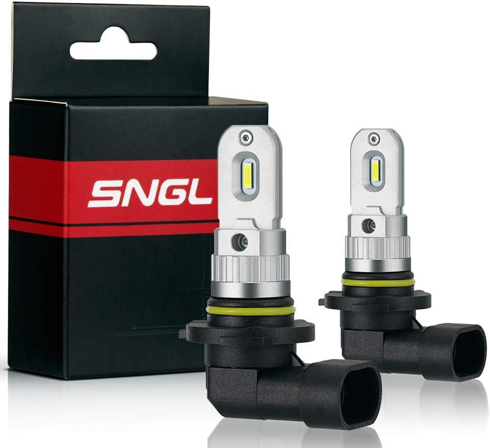 SNGL H16 LED Fog Light bulb 6000K White Super Bright without Glare for Fog lights or DRL Pack of 2