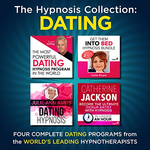 The Hypnosis Collection - Dating     Four Complete Life-Changing Hypnosis Programs for Dating Success              By:                                                                                                                                 Inspire3 Hypnosis                               Narrated by:                                                                                                                                 Inspire3 Hypnosis                      Length: 3 hrs and 39 mins     Not rated yet     Overall 0.0