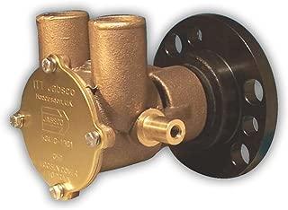 Jabsco 50410-1201 Marine Flexible Impeller Engine Cooling Replacement Pump (454CI Chevrolet, Lip Seal, Full Cam, Crank Drive)