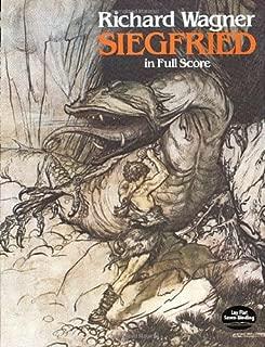 Siegfried in Full Score (Dover Music Scores)