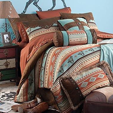 Rod's Western Horse, Painted Desert Bedding Set, King