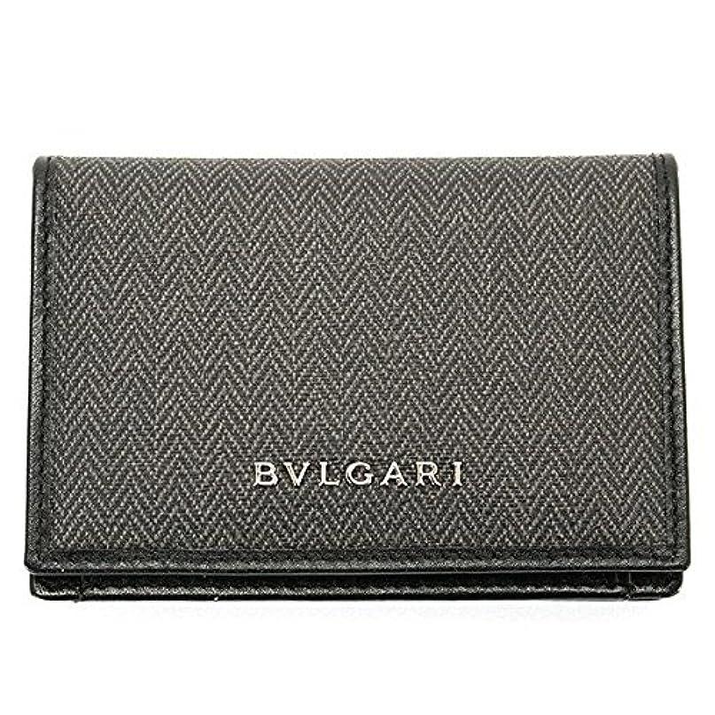 改善するレビュー記憶に残るブルガリ BVLGARI カードケース メンズ 名刺入れ ウィークエンド WEEKEND ブラック 32588