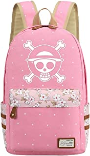 Luminous Anime One Piece Cosplay College Bag Daypack Bookbag Backpack School Bag