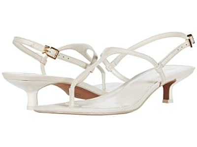 MICHAEL Michael Kors Tasha T-Strap (Light Cream) Women