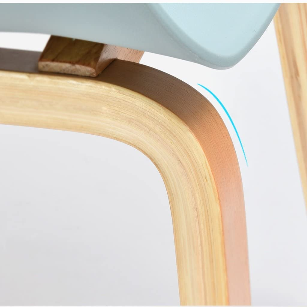 HXF- Chaise de négociation de Chaise de Loisirs Chaise de café Chaise de Salle à Manger en Bois Massif Durable (Color : A) B